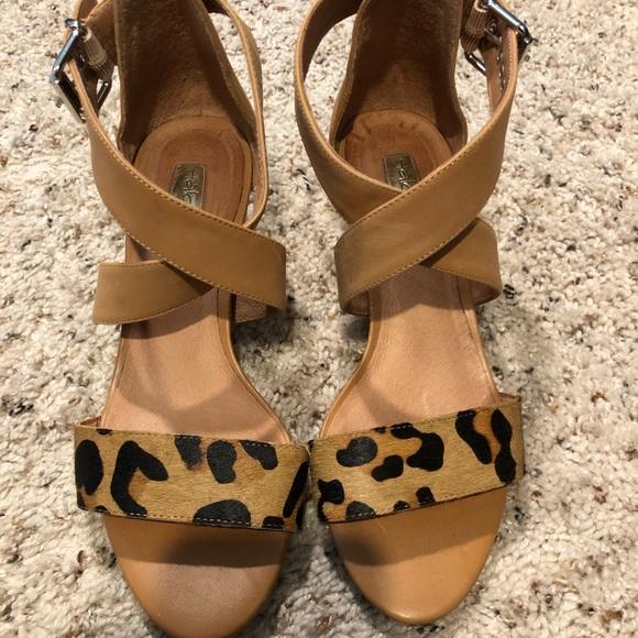 Halogen Shoes | Leopard Print Sandal